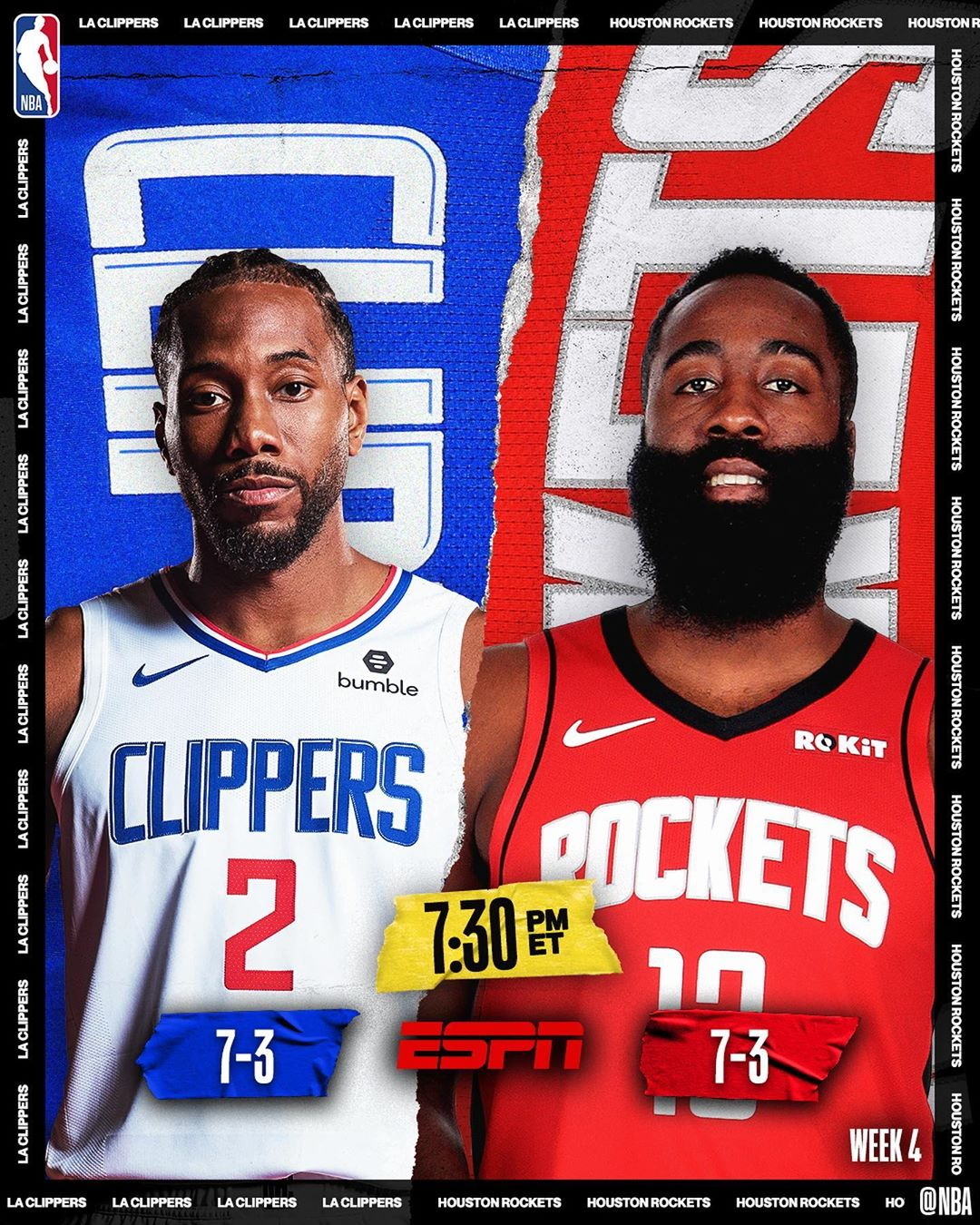 Tonight's  doubleheader tips off at 7:30pm/et!...