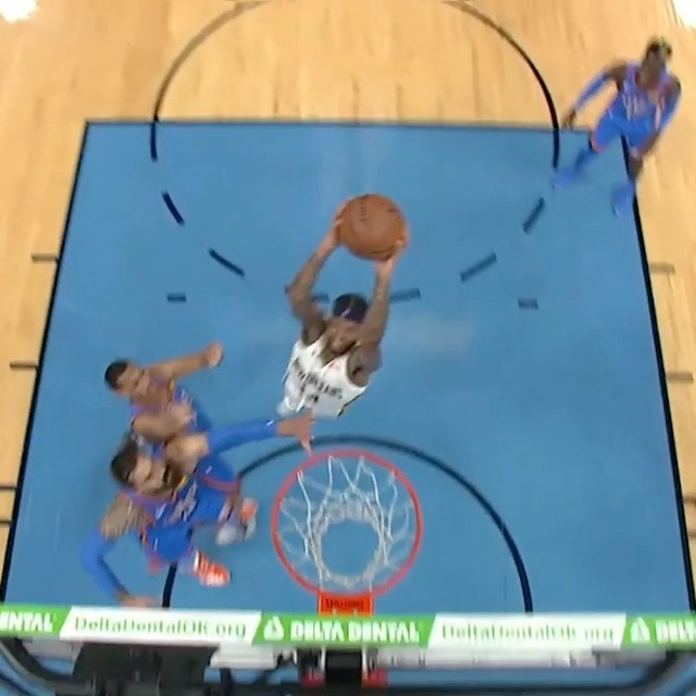 spins into the lane for the SLAM on ...