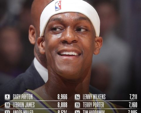 Congrats to  of the  for moving up to 17th on the all-time ASSISTS list!...
