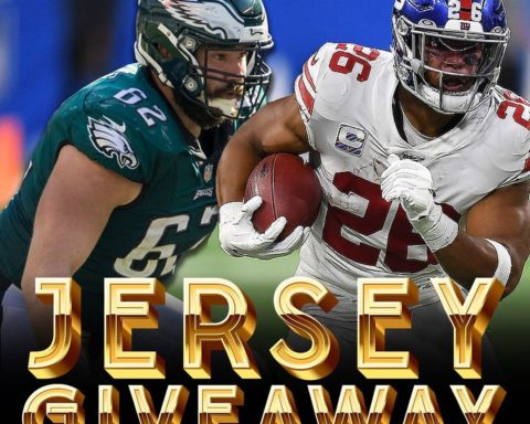 Follow  and comment on their last post for a chance to win a  or  jersey!...