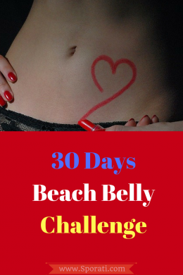 30 days flat belly challenge