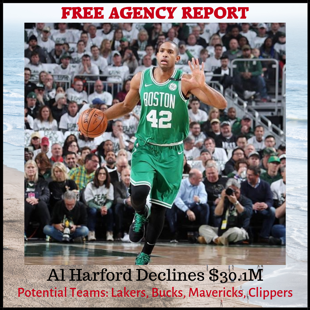 Al Horford Free Agency 2019