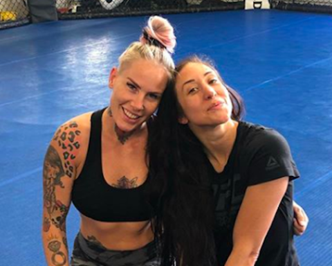 Jessica Penne and Bec Rawlings
