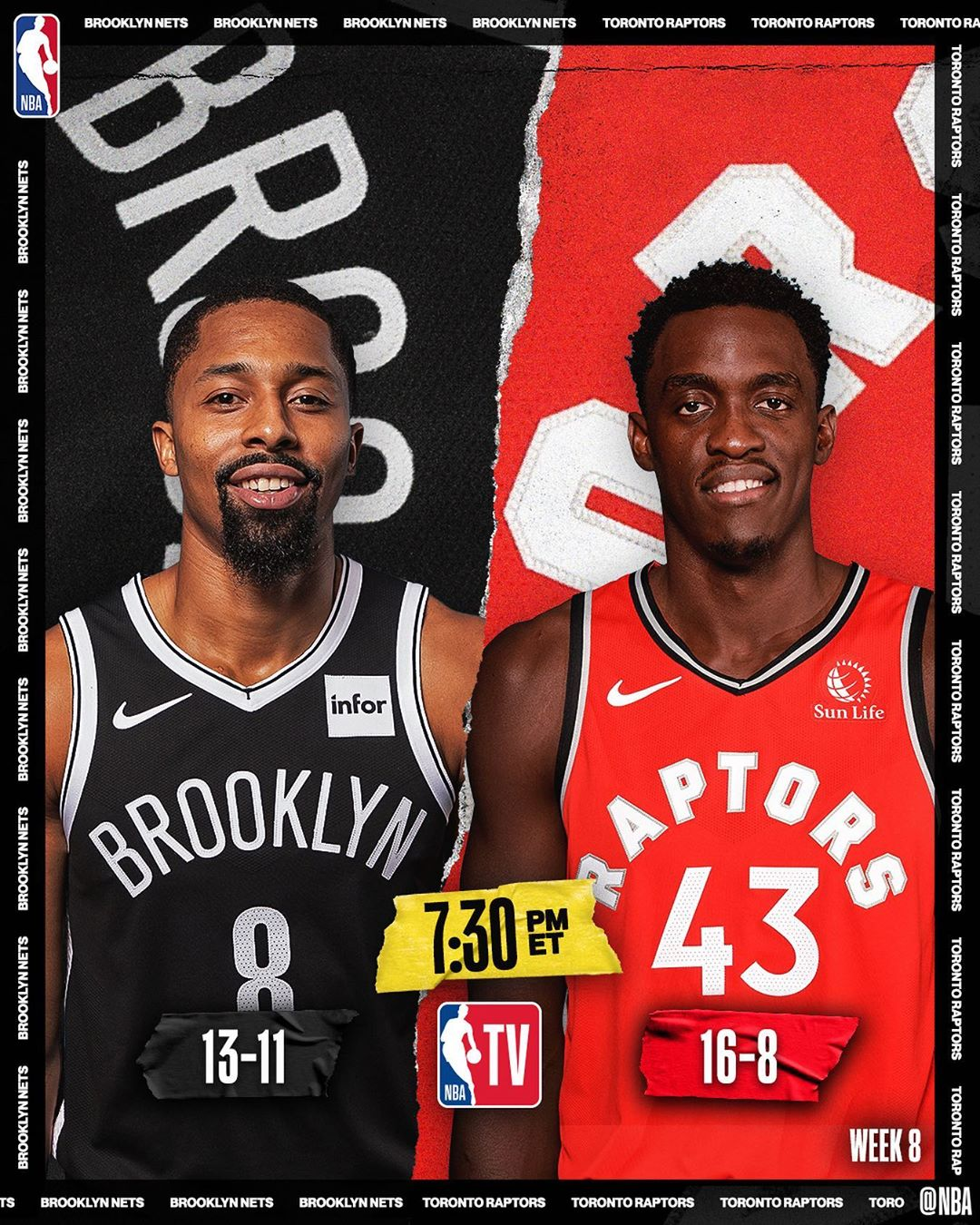 (20.8 PPG, 6.2 APG) and the  visit  (24.5 PPG, 8.3 RPG) and the  : 7:30pm/et : ...