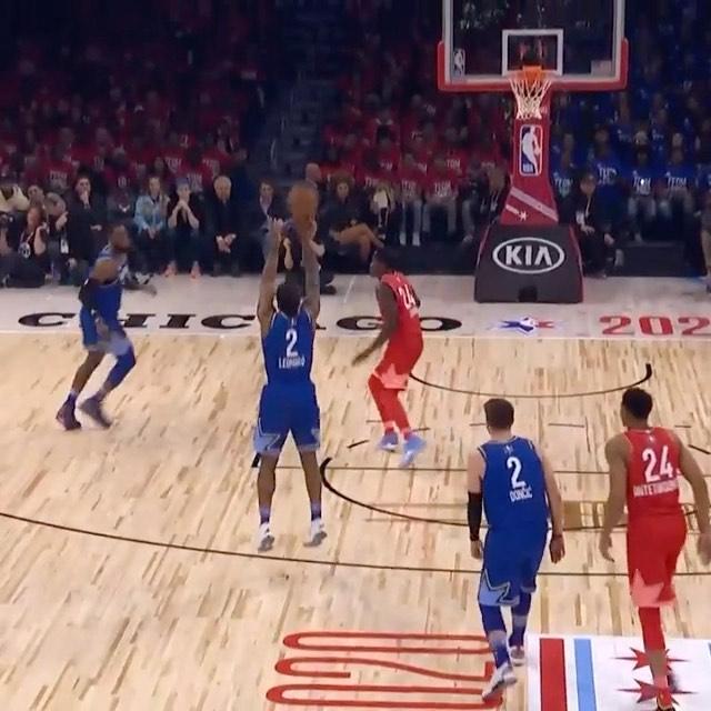 Kawhi Leonard (30 PTS) buries 8 triples en route to winning Kia NBA All-Star Gam...