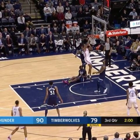The  move the ball to find  for the SLAM!...