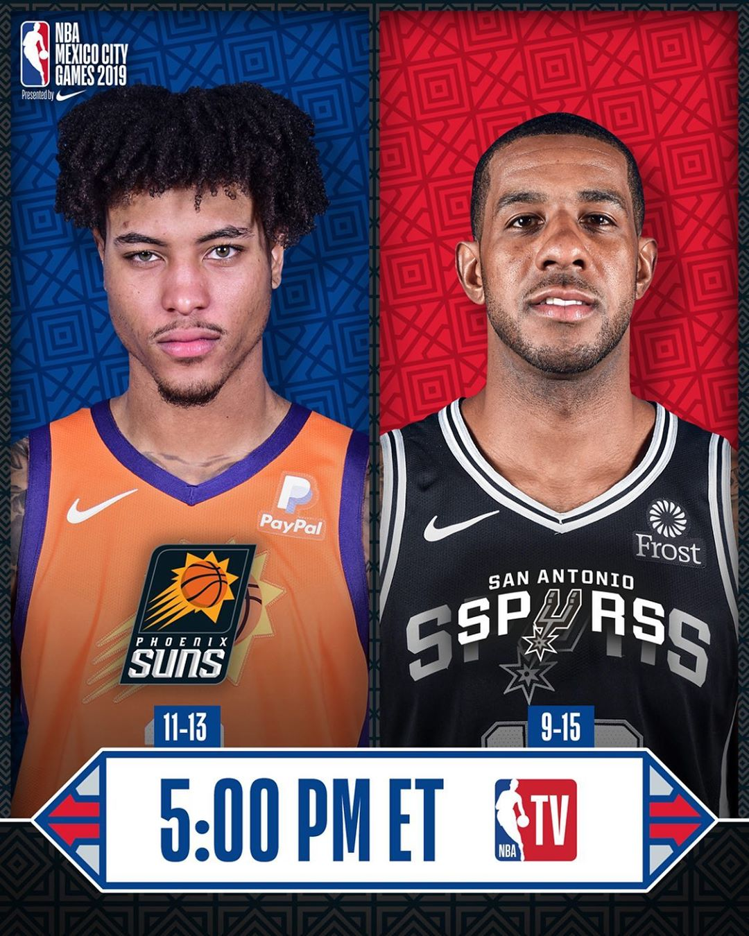 The  presented by Nike continues with  at 5:00pm/et on ...