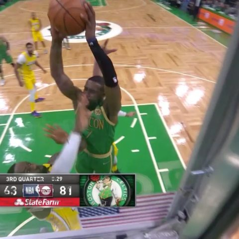 finishes STRONG with two hands on TNT for the ...