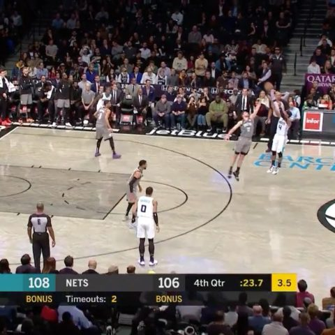 is putting on a show in Brooklyn for career-high 40!...