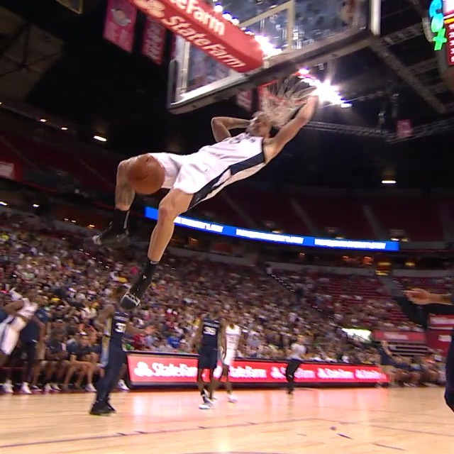 the BEST  DUNKS from the  title game! ...