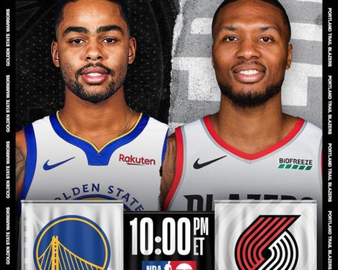 triple-header concludes with  10:00pm/et! . . . • Lillard averaging 30.8 PPG a...