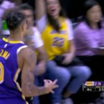 with a pair of clutch triples late in the  road W!...
