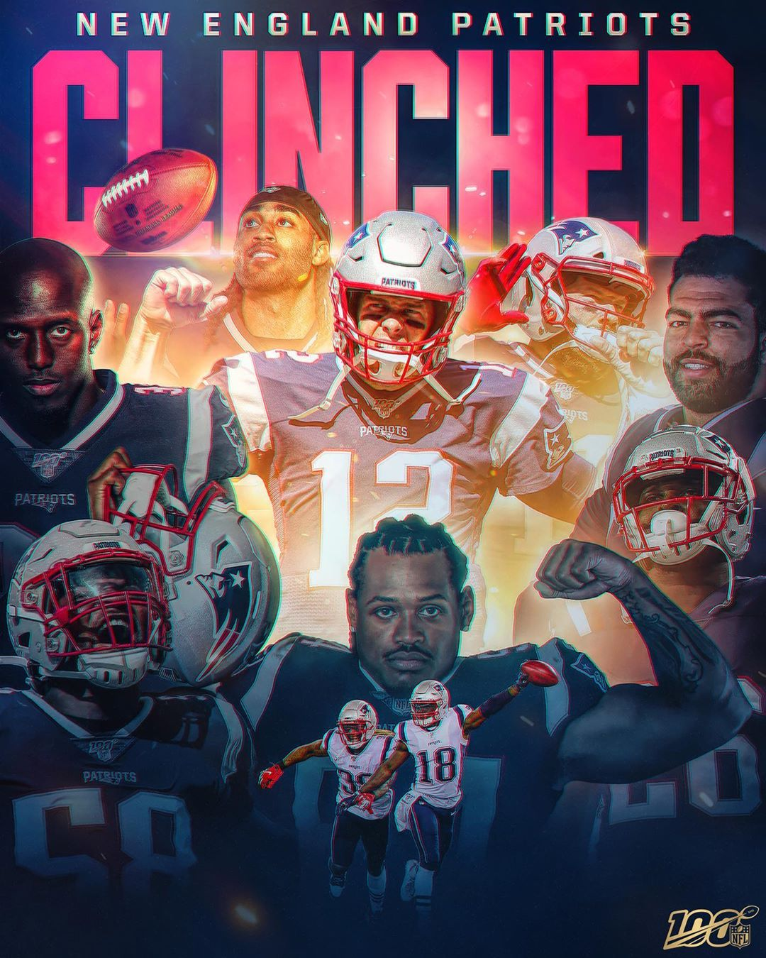 11 straight playoff appearances for the ...