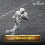 18 consecutive games with a TD?  legend Lenny Moore did that. : NFL 100 All-Time...