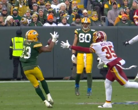 192 total yards and a TD in Week 14. This is why they call Aaron Jones  ...