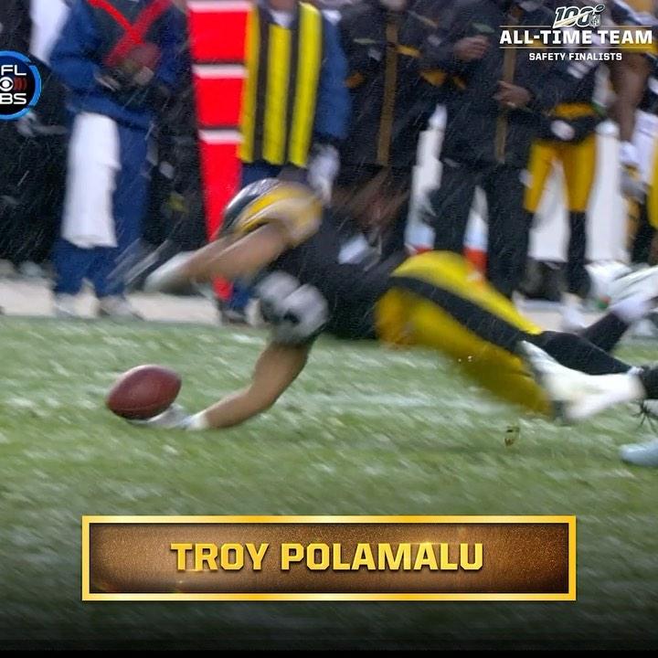 2x Super Bowl Champion. 8x Pro Bowler. All-time hair. Will  S Troy Polamalu make...