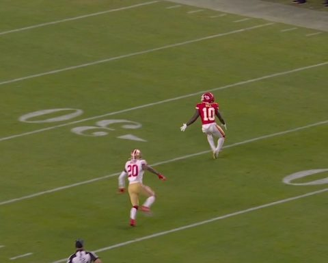 3rd & 15. What happened next became the defining play of Super Bowl LIV. Rewatch...