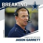BREAKING: Cowboys part ways with head coach Jason Garrett. - : Ron Jenkins/AP...