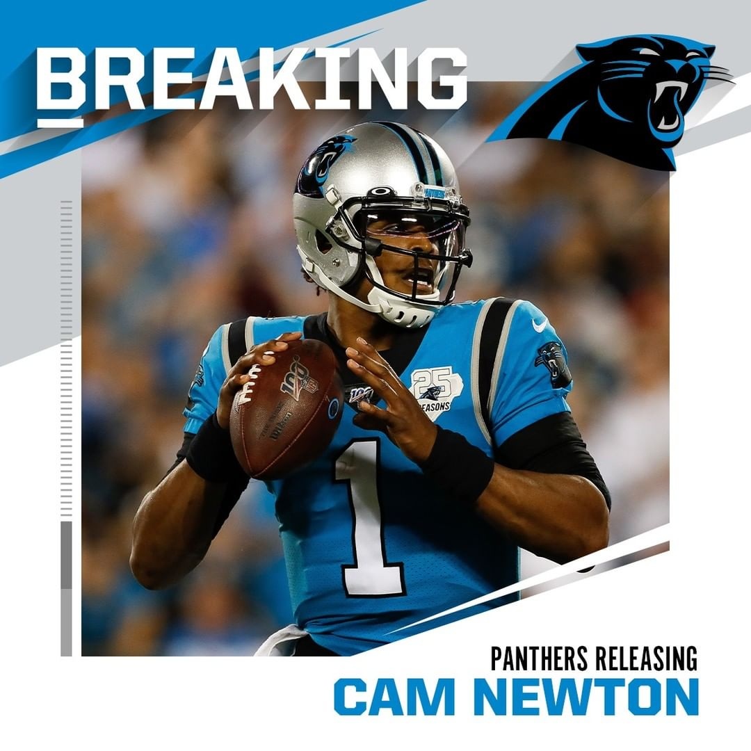 BREAKING: Panthers expected to release QB Cam Newton. (via  +  - : Aaron M. Spre...