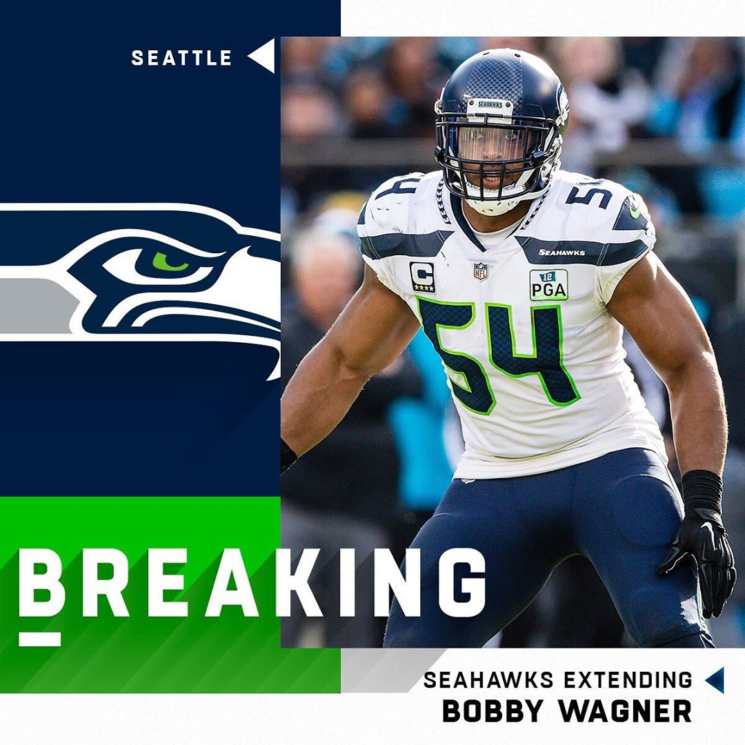 BREAKING:  signing Bobby Wagner to three-year, $54M extension. (via  : Paul Abel...