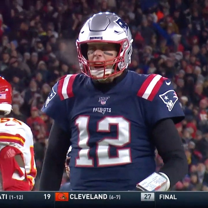 Brady AND Belichick were fired up after this first down pickup.  ...