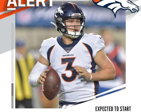 Broncos to start rookie QB Drew Lock vs. Chargers. (via  - : David Richard/AP...