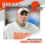 Browns and GM John Dorsey mutually part ways after two seasons. : David Richard/...