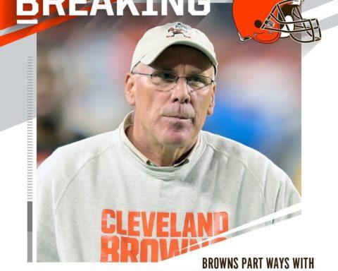 Browns and GM John Dorsey mutually part ways after two seasons. : David Richard/...