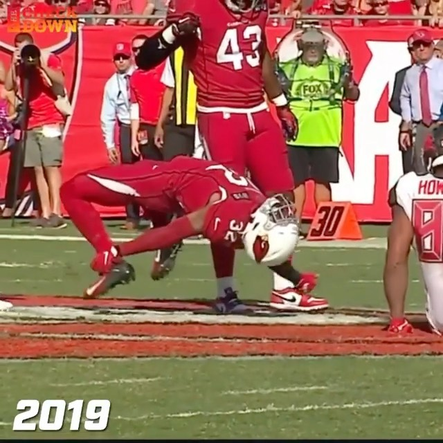 Budda Baker has been doing this since he was a rookie   (via ...