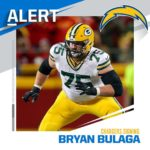 Chargers agree to terms with RT Bryan Bulaga on three-year, $30M deal. (via  - :...