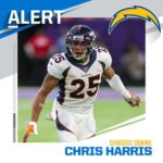 Chargers signing CB Chris Harris. (via  - : G. Newman Lowrance /AP...