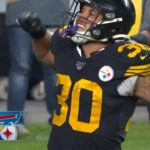 Conner juking and breaking tackles to give Pittsburgh the lead! - :  on NBC : NF...
