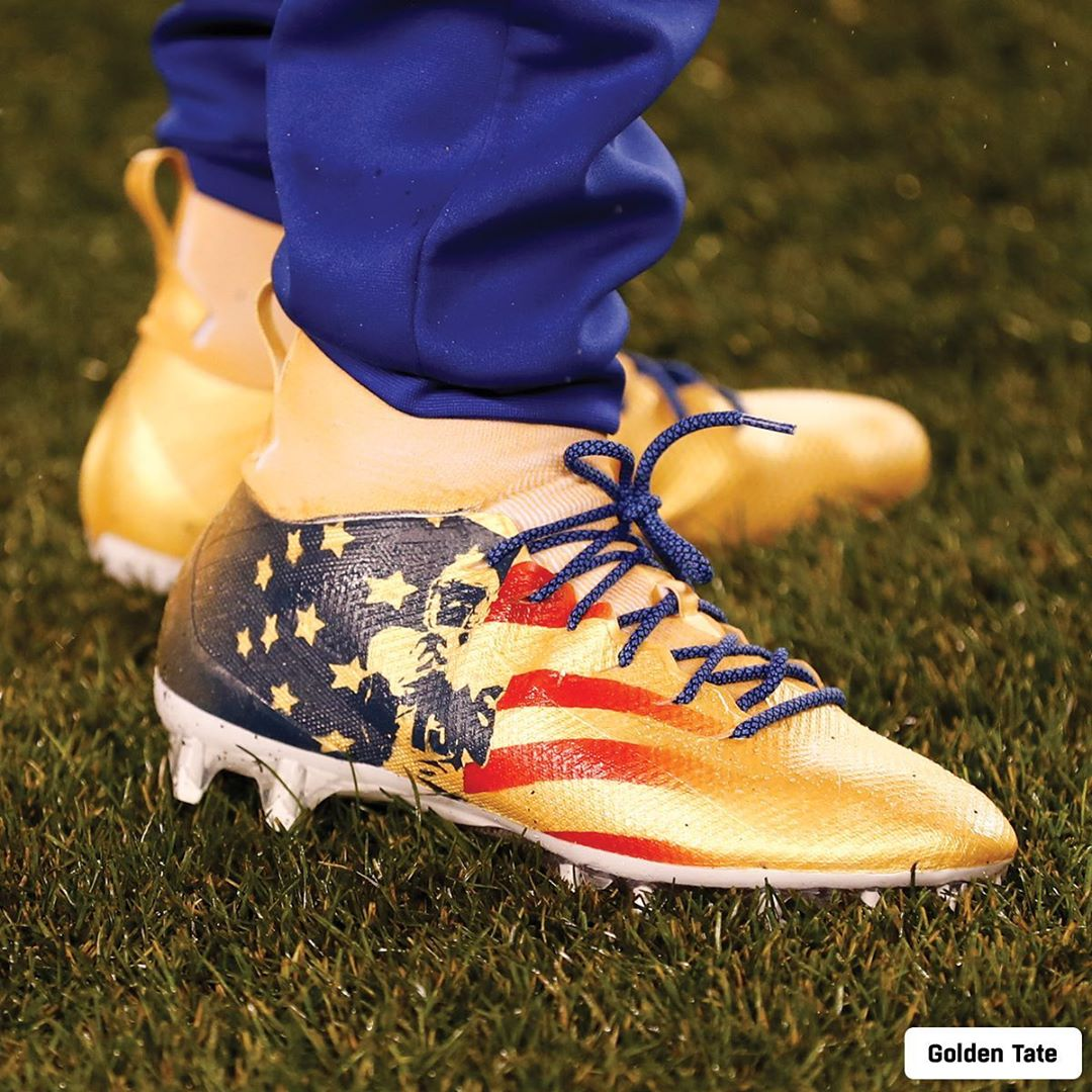 Cool cleats. Even better causes. Some of the   players are rocking tonight for ...
