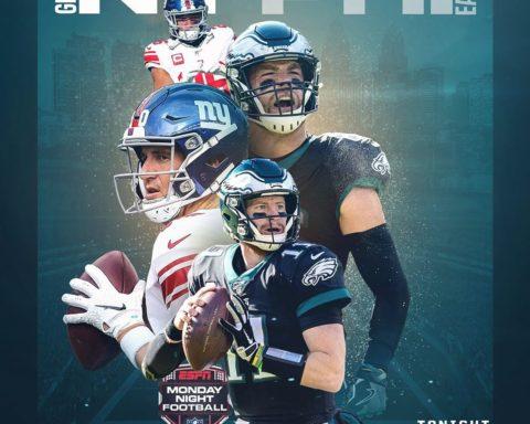 Eli returns for a classic NFC East showdown on   - :  - TONIGHT 8:15pm ET on ESP...