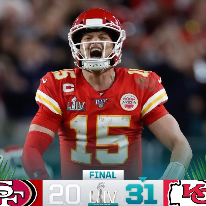 FINAL: The  are Super Bowl Champions! ...