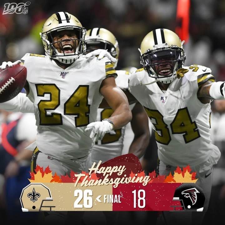 FINAL: The  leave Atlanta with a Thanksgiving win! ...