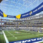First look at the L.A. Rams redesign in the new SoFi stadium!  (via ...