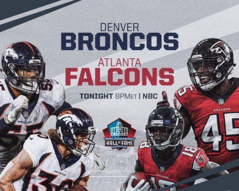 Football returns to Canton TONIGHT! : 2019  Game | 8PM ET on NBC...