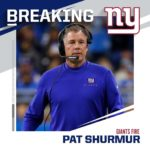 Giants fire head coach Pat Shurmur. : Paul Sancya /AP...