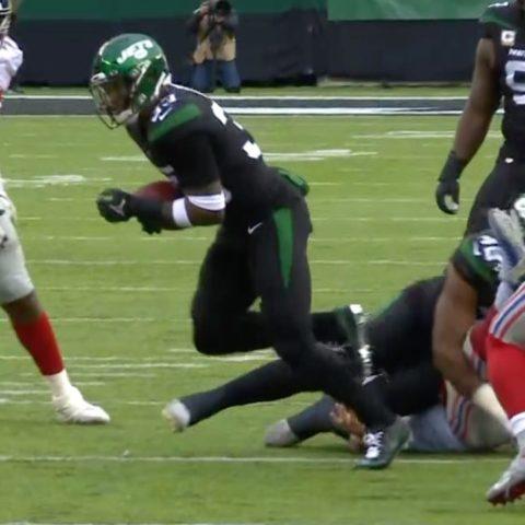 Jamal Adams just TOOK THE BALL AWAY.  ...