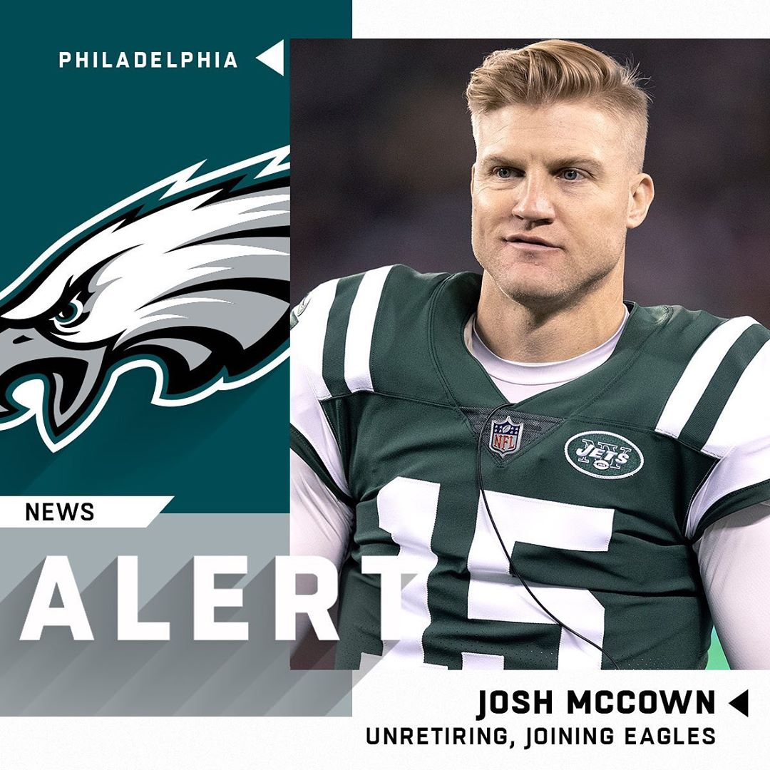 Josh McCown ending retirement to sign one-year deal with  (via  : Damian Strohme...