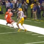 Justin Jefferson pulled off this crazy juke in the National Championship   (via ...