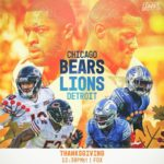 Kicking off Thanksgiving with an NFC North matchup in Detroit! - :  | 12:30pm ET...