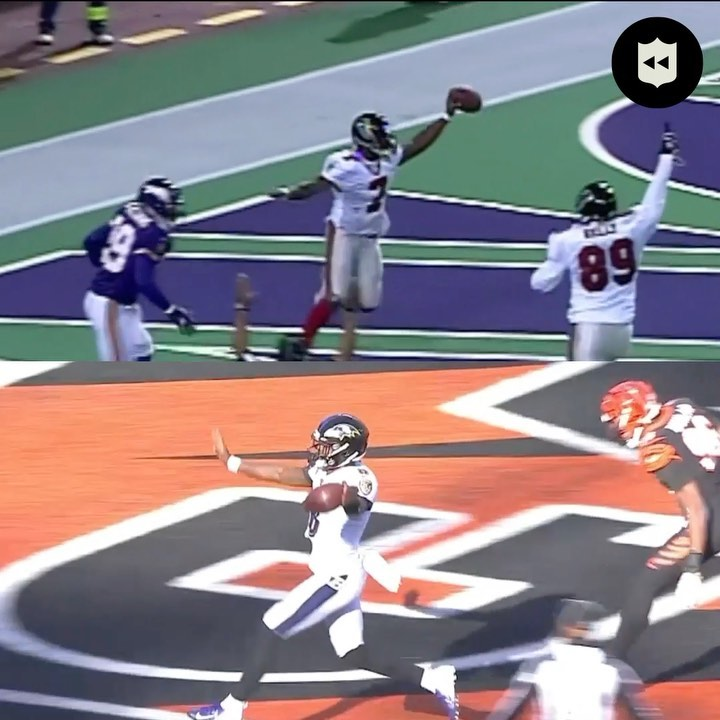 Lamar Jackson's epic 47-yard touchdown reminds us of an iconic 46-yard run...   ...