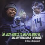 Mentor   Listen to  talk about how Marshawn Lynch guided the young  ...