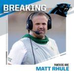 OFFICIAL:  hire former Baylor HC Matt Rhule as new head coach. - : Michael Wyke/...