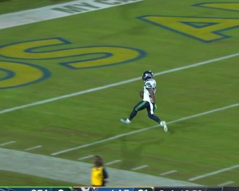 PICK-6!  are in it! - :  on NBC : NFL app // Yahoo Sports app...