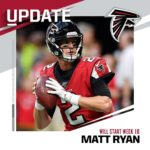 "QB Matt Ryan is ""ready to play"" vs. the Saints on Sunday, per HC Dan Quinn. : M..."