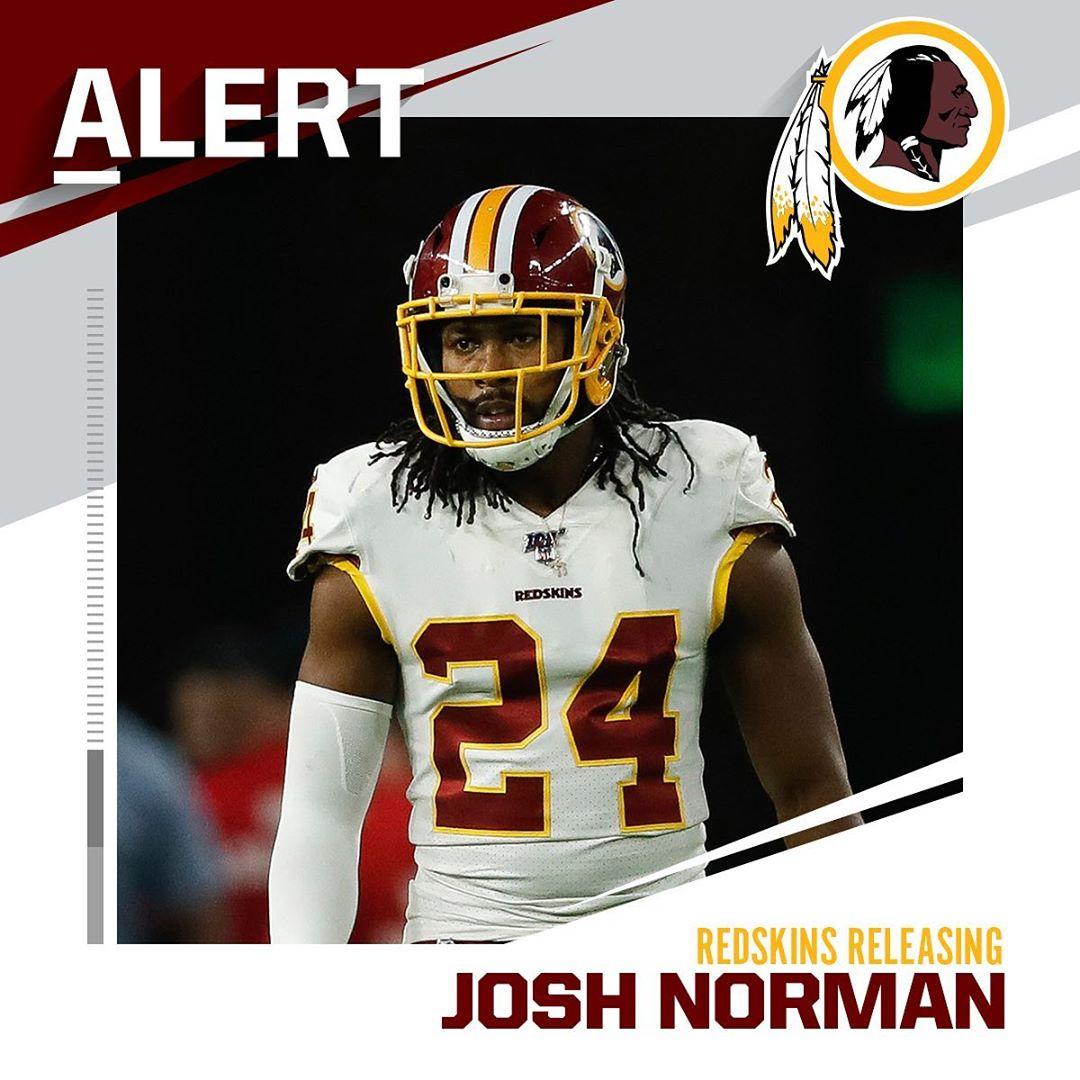 Redskins to release CB Josh Norman. (via  - : Aaron M. Sprecher/AP...