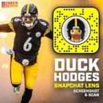 Screenshot and scan this code to become  QB Duck Hodges!  (via  ...
